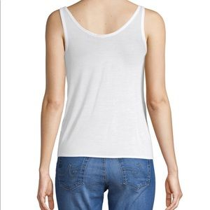 Authentic Helmut Lang Scoop White Tank Top